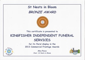 St Neots in Bloom 2013