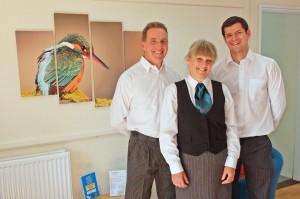 Kingfisher Staff at Huntingdon