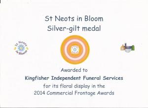 SNIB Certificate 2014