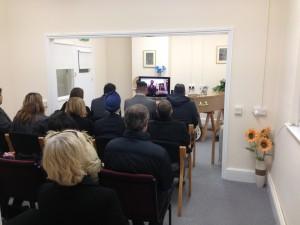 Skype Funeral 1
